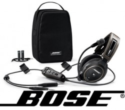 Bose A20 Bluetooth headset.
